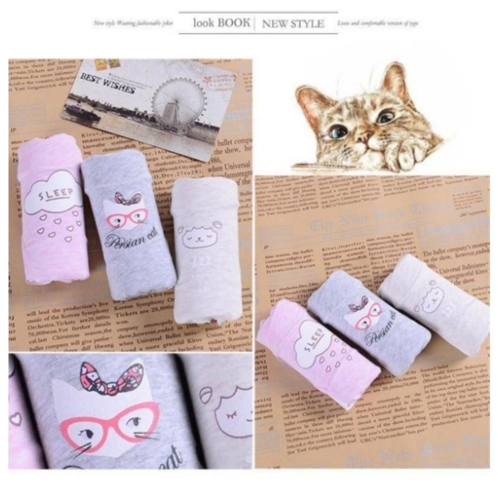 純棉內褲 【U006S】 低腰內褲 L-XXL 精梳棉 孕婦內褲 托腹內褲 三件組 孕婦裝 孕婦褲