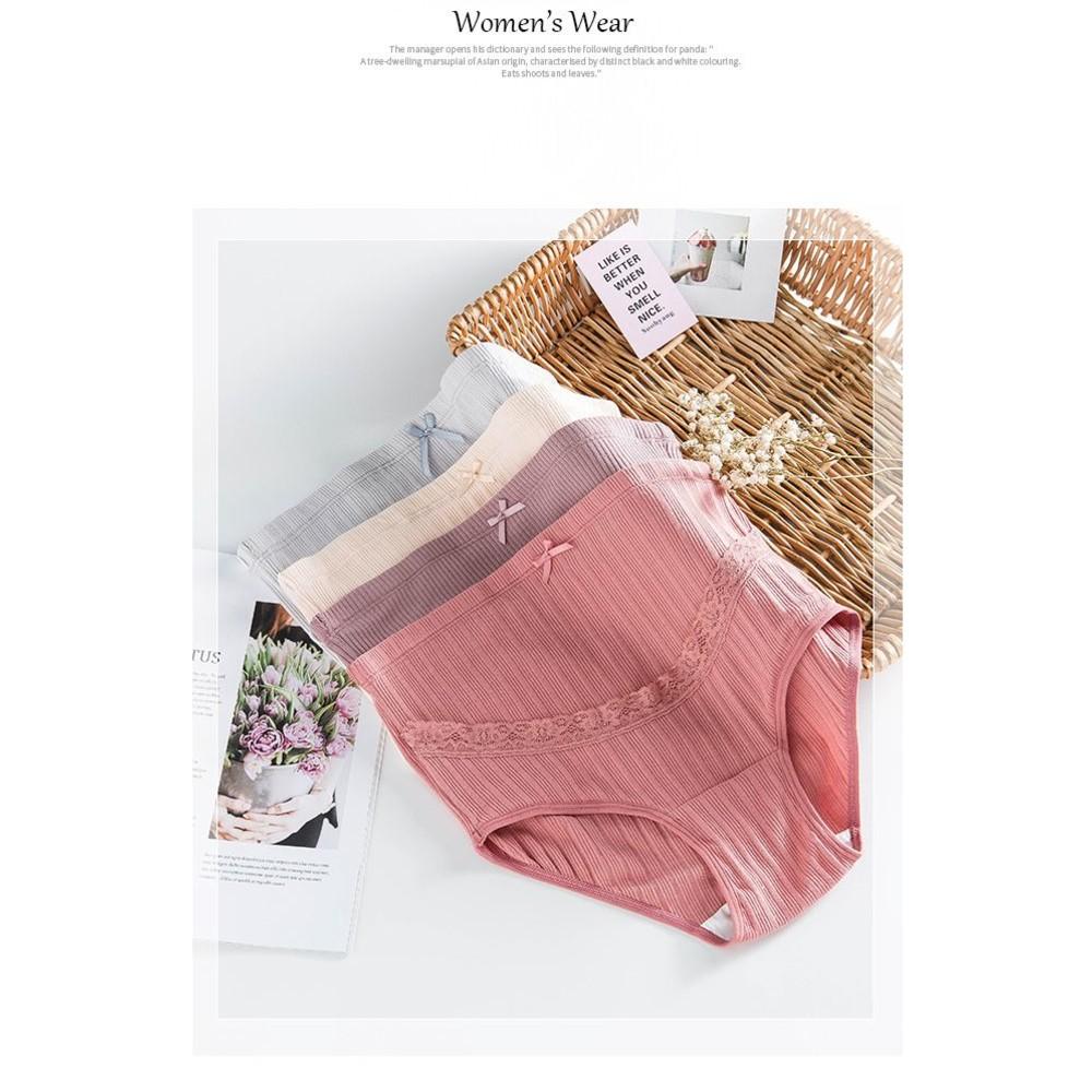 純棉內褲 【U007S】 雙層 高腰 托腹 L-XXXL 精梳棉 孕婦內褲 托腹內褲 三件組