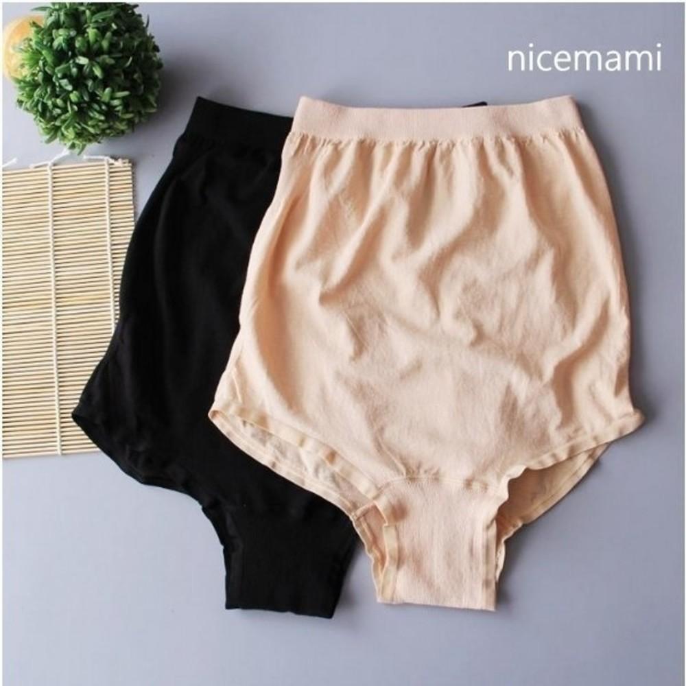 彈力內褲 【U9208CH】 孕婦內褲 無縫 柔軟 高腰 無縫包臀內褲 舒適柔軟 孕婦褲
